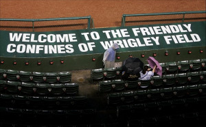 ... Chicago Cubs at Wrigley Field. Mandatory Credit: Jerry Lai-US
