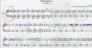 Jessie J — Masterpiece Piano Sheets PDF: Slipstick