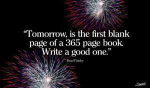 years new years quotes midnight possibilities and endless page book