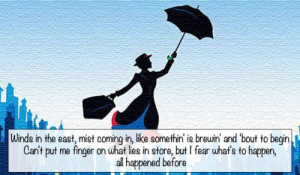 mary poppins movie quotes