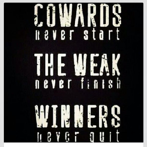 Quotes Quitting Never Quit