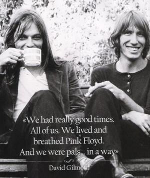 David Gilmour quote