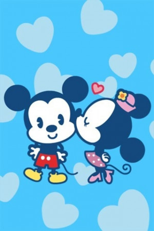 Minnie And Mickey Mouse Love Quotes Mickey and minnie in love