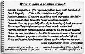... things I have learned: How to change the culture & climate of a school
