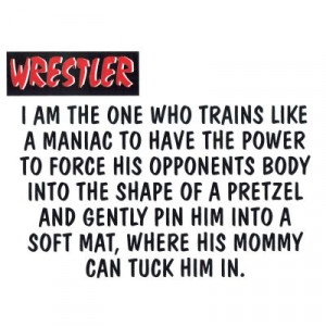 Wrestler - The One T-Shirt