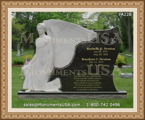 We ship all kinds of headstones & monuments to any place in United ...