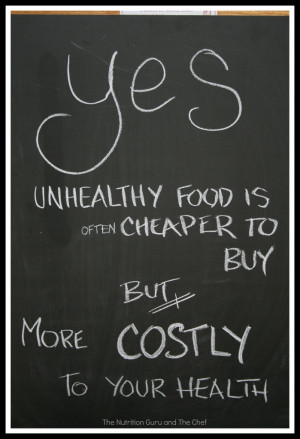 Unhealthy food costs you your healthUnhealthy Food, Loss Healthy, Dust ...