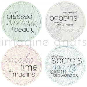 sewing sayings digital embroidery pattern