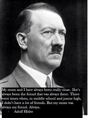 This Is Genius, Taylor Swift Quotes Layered Over Pictures Of Hitler!