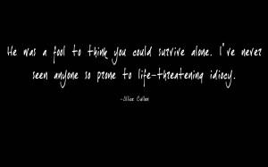 twilight alice quote by elizabethty fan art wallpaper books novels ...