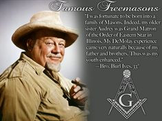 Image detail for -Famous Freemasons: Bro. Burl Ives, 33° :Mystical ...