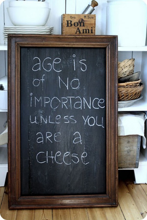 ... for fun sayings, wine lists, pairings, etc. Source unknown :o