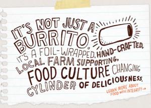 Funny Burrito Sayings The chipotle burrito has