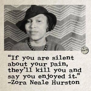zora neale hurston quotes about racism quotesgram