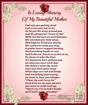 ... Miss You Mom, Mama I Miss You, Memories, Miss You In Heavens Quotes