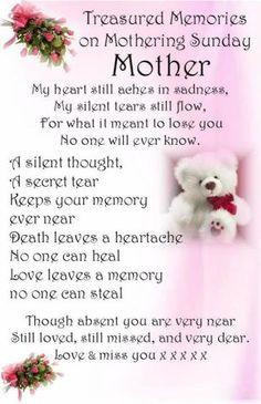 RIP Mom ♥