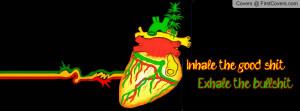 Rasta Heart Profile Facebook Covers