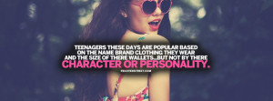 Character and Personality Teenager Quote Picture