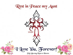 Rest in Peace AuntTattoo Ideas, Side Tattoo, Peace, Tribal Crosses ...