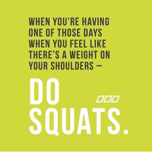 Fitness Quotes Squats