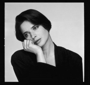 isabella rossellini the italian actress and model daughter of isabella