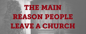 Leave a Church - a short understanding of how perceptions of church ...