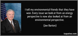 More Joe Barton Quotes