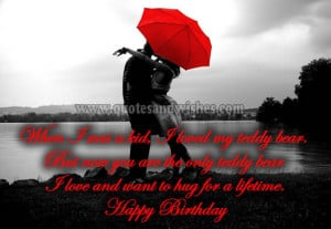 Cute and Romantic Happy Birthday wishes for Boyfriend, husband, fiance ...