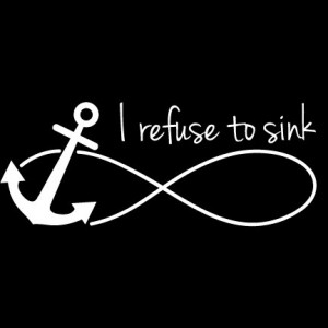 We have this hope as an anchor for the soul, firm and secure. Heb 6:19 ...
