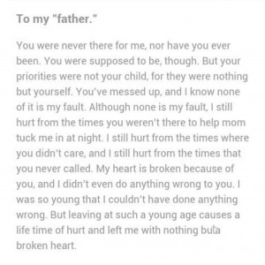 Dad Quotes From Daughter Tumblr ~ Quotes For > I Love You Dad Quotes ...