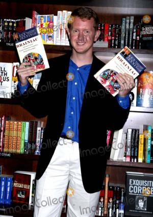 Ken Jennings Picture Ken Jennings Signs Copies of His New Book