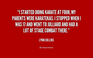 Lynn Collins Quotes