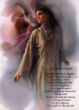 pictures wolves native american women