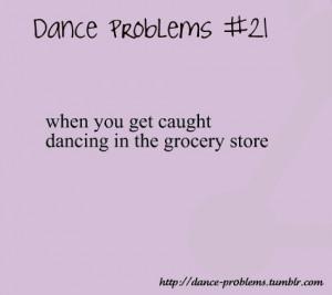 Dancer Problems Tumblr