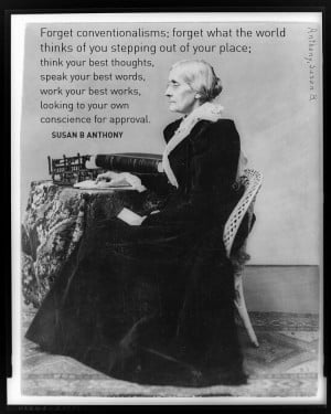 Susan B Anthony Quote
