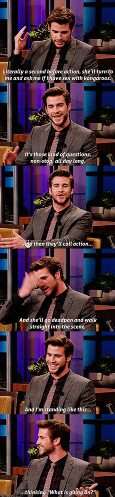 actors celebs funny pics funny pictures humor jennifer lawrence liam ...