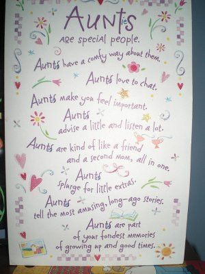 Birthday Quotes For Aunts