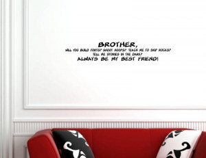 Brother Quotes Sayings...