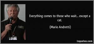 More Mario Andretti Quotes