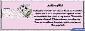 Funny : Maxine Living Will Funny Facebook Timeline Cover