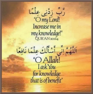 Here are some Islamic Quotes about Education and Its Importance: