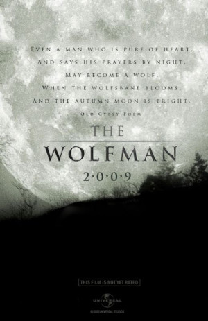 wolfman poem poster