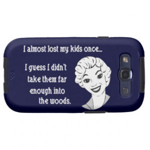 Funny Retro Mom Quote Samsung...
