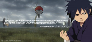 Madara Quotes (Indonesian) by Rizkynobi