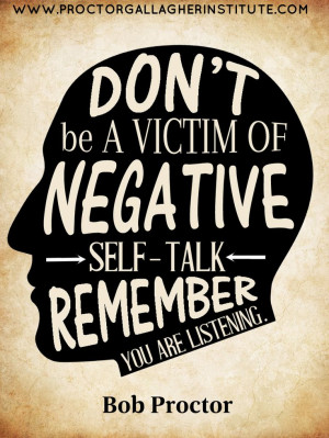 , Life Quotes, Bobs, Negative Self Talk, Listening, Positive, Quotes ...