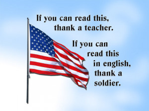 Thank you soldiers
