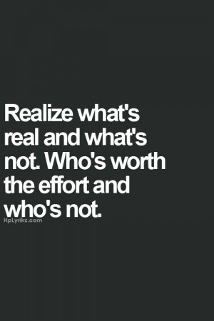 So true...tired of putting in an effort to people who don't even care ...