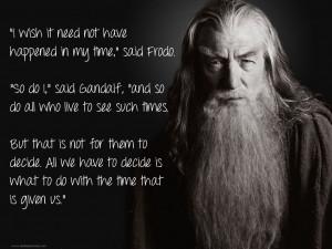 Frodo Quotes