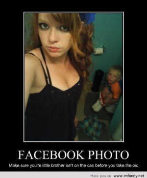 ... Funny Pictures // Tags: Girl meme - Facebook selfie fail // May, 2013