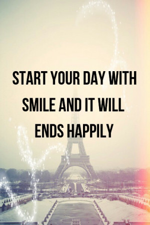 cute, happy day, love, pretty, quote, quotes, quotes life